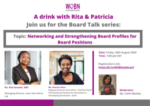 Networking and Strengthening Board Profiles for Board Positions
